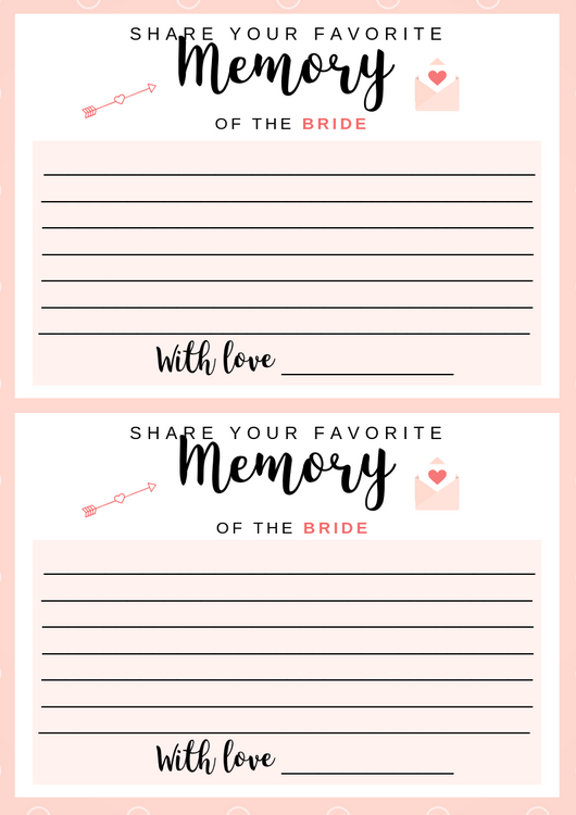 free printable share a memory by dressyourgift