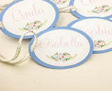 SET of Maid of Honor Gift Tags Bridesmaid Gift Tags Customizable Gift Tags Birthday Tags