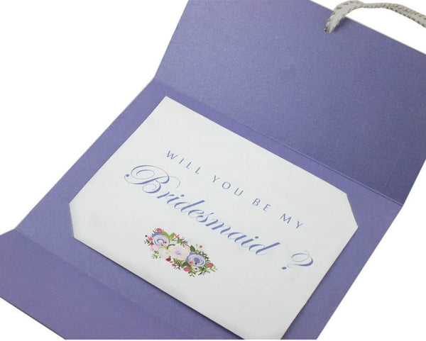 Customizable Bridesmaid Invitations