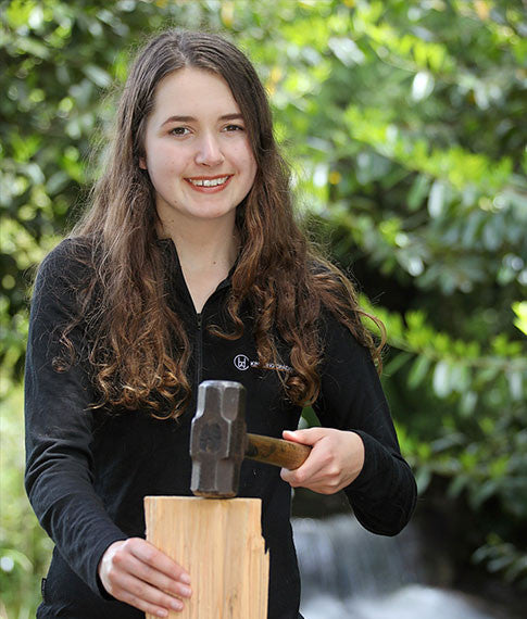 The Kindling Cracker started out as a school science project at the age of 13