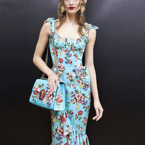 3e92efd62ef Mermaid s floral dress – Lolas Couture Collection