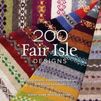 200 Fair Isle designs by Mar Jane Mucklestone