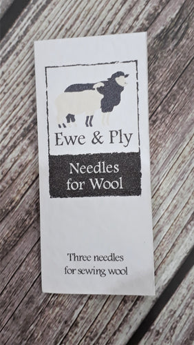 Wool needles by Ewe & Ply