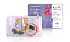 Nova Metal Interchangeable KnittingNeedle Starter Set