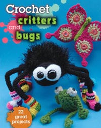 Crochet Critters and Bugs by Kathryn Fulton