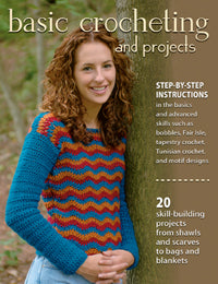 Basic Crocheting and Projects by Sharon Hernes Silverman