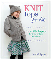 Knit tops for kids by Muriel Agator