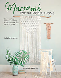 Macrame for the modern home by Isabella Strambio