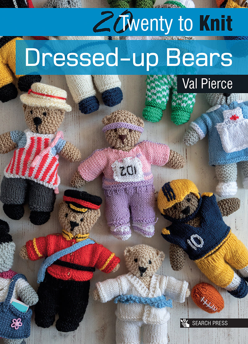20 to knit - Dressed up bears by Val Pierce
