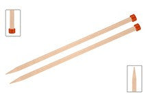 Basix Straight Knitting Needles by KnitPro