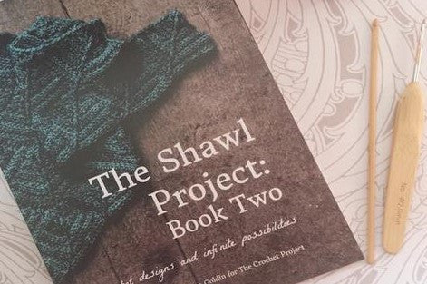 The Shawl Project Book 2 by Joanne Scrase and Kat Goldin