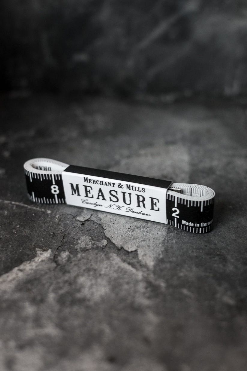 Bespoke tape measure by Merchant & Mills