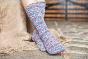 Luxury socks by West Yorkshire Spinners.
