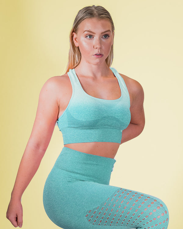 NYFLEX SEAMLESS SPORTS BRA | MINT