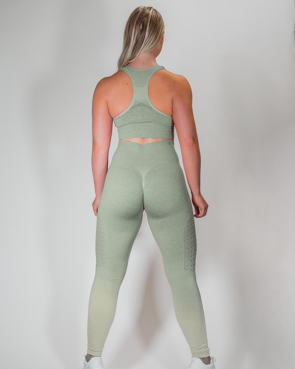 NYFLEX SEAMLESS LEGGINGS | VERDANT