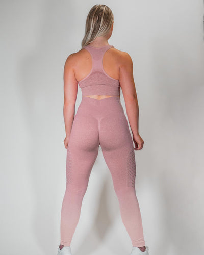 NYFLEX SEAMLESS LEGGINGS | BLUSH