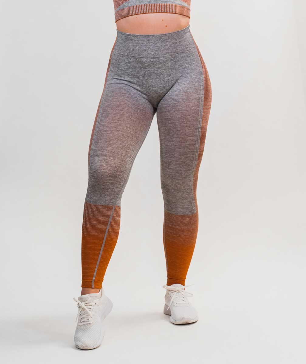 Hybrid Seamless Leggings | Quartz Rose