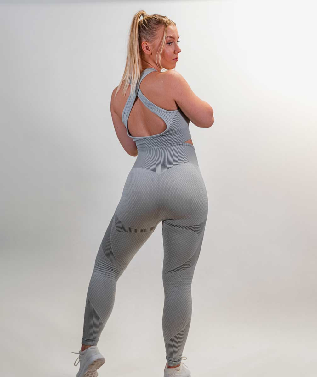 Futura Seamless Leggings | Daisy White