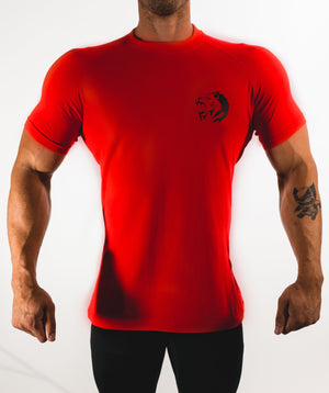 Shirts - Performance Shirt | Fire Red