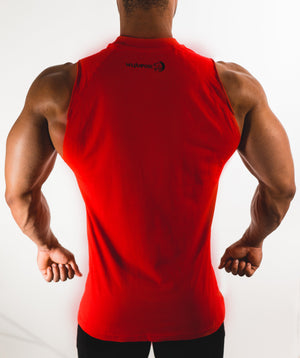 Shirts - Performance Sleeveless | Fire Red