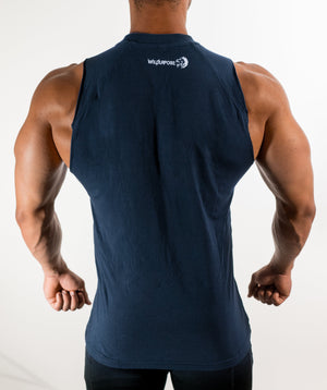 Shirts - Performance Sleeveless | Navy Blue