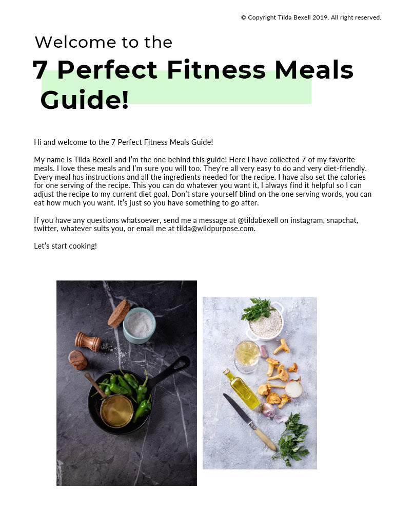 7 Perfect Fitness Meals To Fuel Your Day!