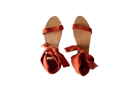 Palma Sandals - Coral