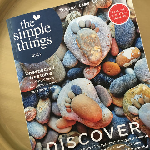 Simple Things Magazine featuring Little Grey Cells Design Cloud Shelf