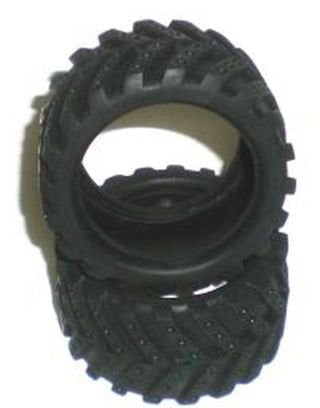 2pc Rubber Tires For Road Master 4x4