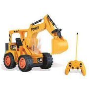 Remote Control Yellow Excavator Engineer Super Power