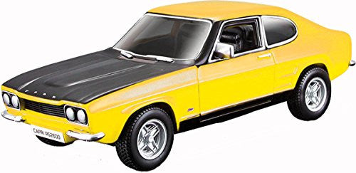 1970 Ford Capri Rs2600 Street Classics 1:32 Scale Diecast Model Car Toy For Kids