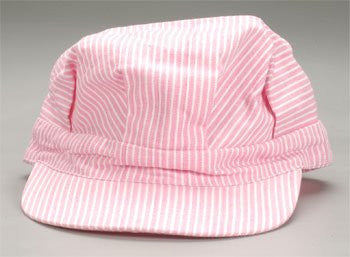 00053 Engineer Cap Child Pink Strap Back