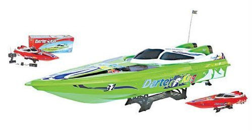 "45"" Huge Gigantically Huge Darter King High Performance Electric Ep Racing Speed Boat Rc Radio Remot"