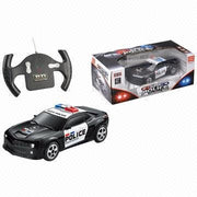 Top Race Full Functional Rc Remote Control Police Car