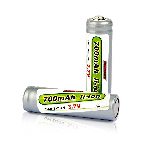 2pcs Battery For Vatos Vl Bg1510 Rc Car Off Road High Speed 4 Wd 40km/H 1:24 Scale 50 M Remote Contr
