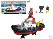 Remote Control Sea Port Tug Boat Rc Rtt By E Toysworld