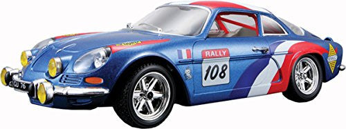 Alpine Renault A110 1600s Highly Detailed Diecast Model 1:24 Scale Car Toy