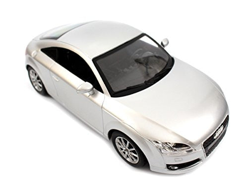 "Ampersand Shops Remote Control License Toy Car 11.4"" 1:14 Audi Tt (Silver)"