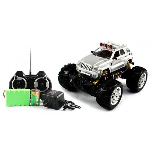 Big Size Quality Electric Full Function 1:16 Jeep Grand Cherokee Monster Rtr Rc Truck (Colors M Ay V
