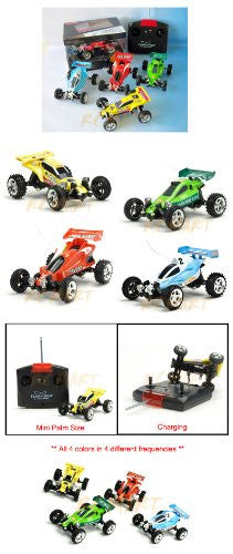 1:52 Mini Rc Buggys Set Of 4 1 Of Each Color