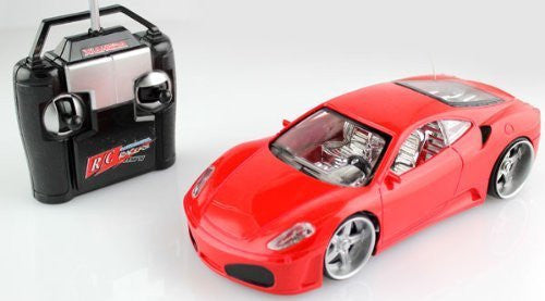 1:24 Rc Ferrari F430 Full Fuction Remote Control Car (Red)