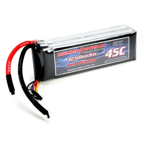 3250m Ah 5 Cell/5 S 18.5 V G4 Pro Power 45 C Li Po