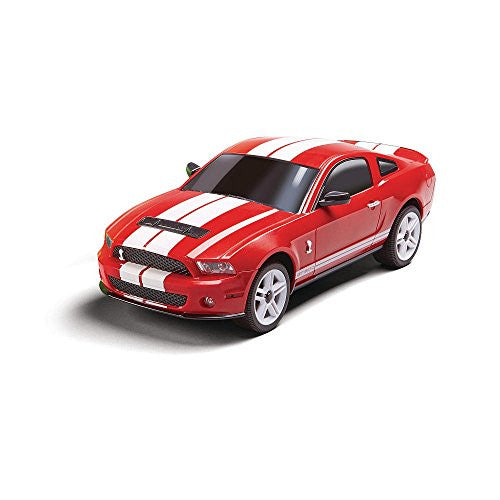 27 Mhz Fast Lane R/C 1:24 Red Ford Mustang Shelby Gt500