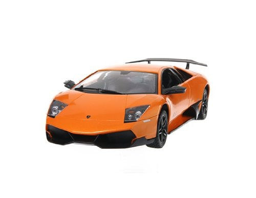 "Ampersand Shops Remote Control Licensed Car 10"" 1:14 Lamborghini Murcielago (Orange)"