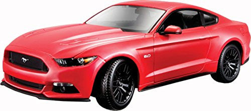 2015 Ford Mustang Gt Detailed Replica 1:18 Diecast Maisto Model Car Toy For Kids