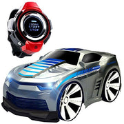 Voice Activated Rc Car, Ce Store 2.4 G Hz Smart Watch Voice Command Toy Remote Car W/ Spin Out & Dem
