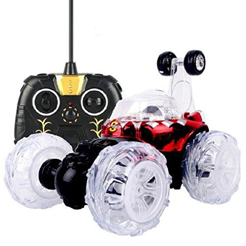 Abc 360 Spin Fashion Stunt Car Music Remote Control Led Lights Rechargeable