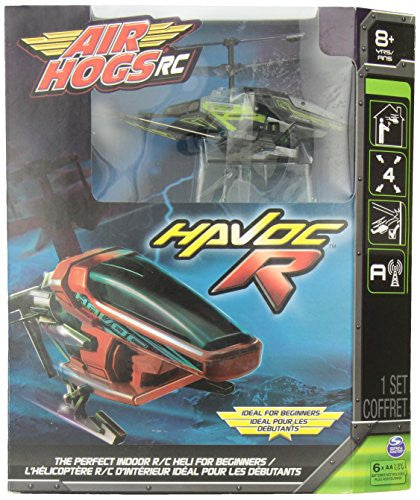 Air Hogs Havoc Heli   Green/Black (Package Styles May Vary)