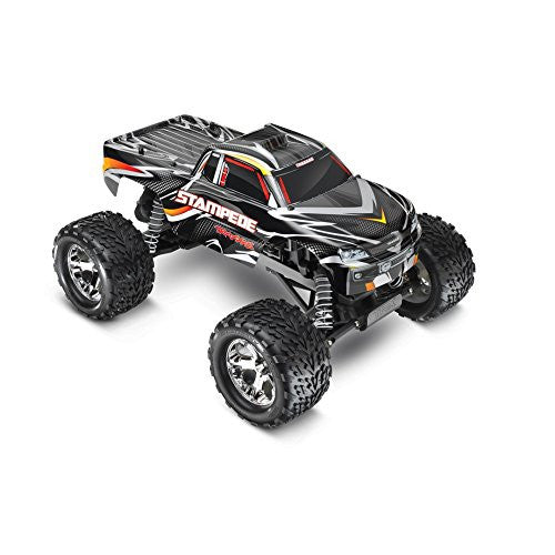 36054 Blk Traxxas 1/10 Scale 2 Wd Stampede Xl 5 Monster Truck   Black