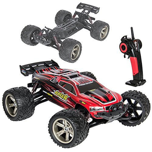 Best Choice Products 1:12 Scale 2.4 G Hz Remote Control Truck Electric Rc Car Monster Off Road